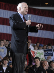 President McCain Election 2004