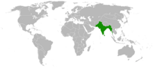 British Indian empire in 1936 ALTHIST