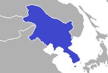 Location of Korea (Proxima Centauri)