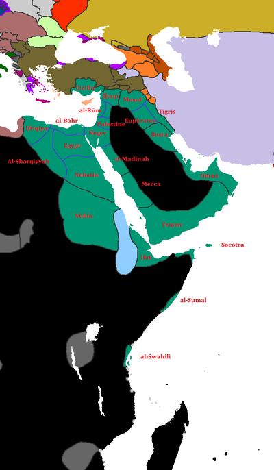 Mamluk Divisions 1427