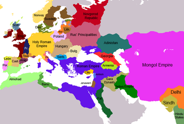 File:Mongol Invasion Europe Map.png