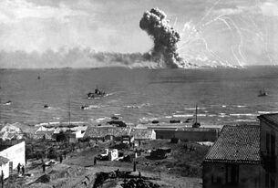 Exploding Ship Sicily
