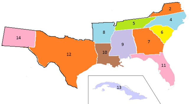 File:States of the CSA numbered (1920).png