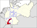 CV Map of Baden 1918-1934