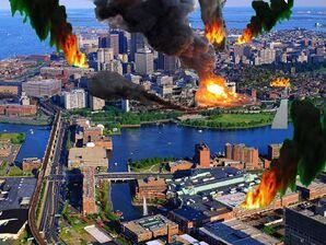 Destroyed Boston