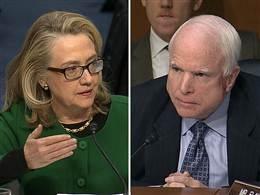File:McCain/Clinton debate.jpg