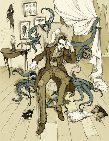 File:H P Lovecraft by MirrorCradle.jpg