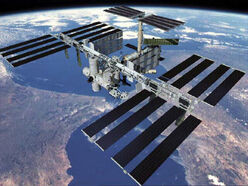 Space-station-concept art