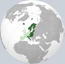 Finland superpower globe