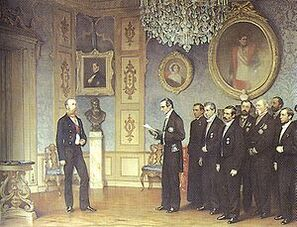 Offering of the Mexican Throne to Maximilian