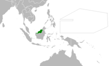 Location of Sarawak (Myomi Republic)