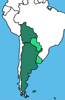 Republica Federal Argentina 1966 (Rebuild Map)