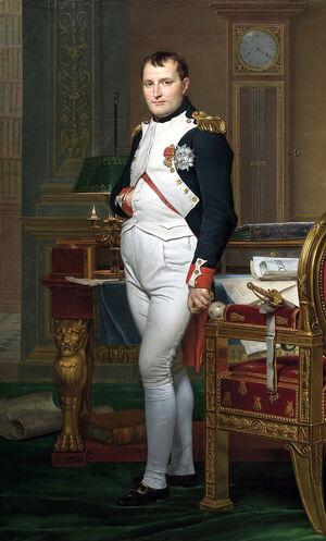 Napoleon in His Study-1-