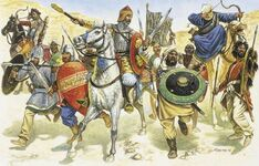 Byzantine-Arab attackers