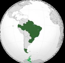 Map of Brazil (Parallel Brazil)