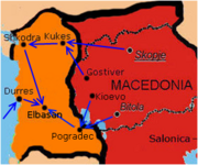 Macedonian invasion