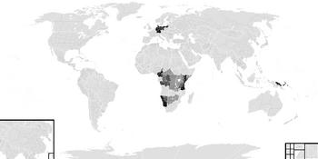 German Empire Map RTS