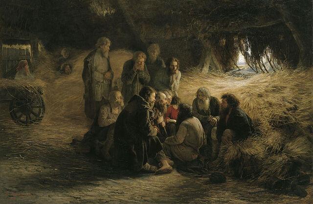 File:800px-Grigoriy Myasoyedov Reading of the 1861 Manifesto 1873.jpg