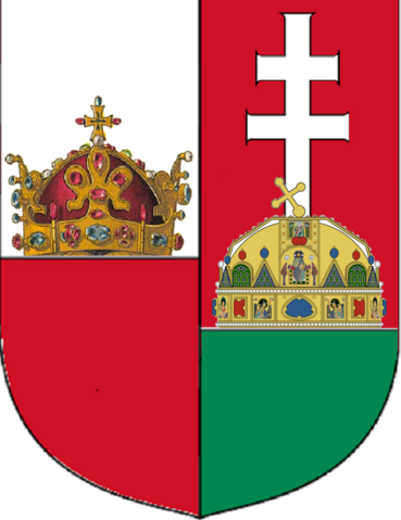 File:Coat of Arms of Hungary and Bohemia.png