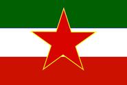 Quebecios Democratic Republic flag 1