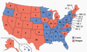 US Electoral 1980 (Thanks Jimmy)
