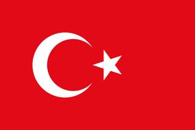 Флаг Турция
