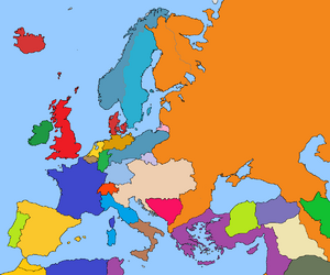 Europe after great war