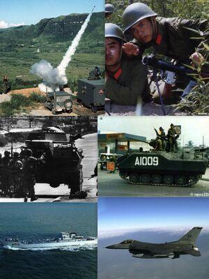 Chinese-Filipino War collage