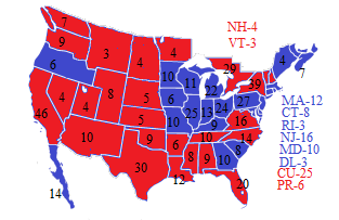 1988 Election NW