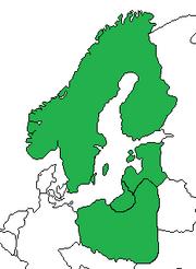 Baltic League Map