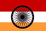 Indian wheel flag. 2