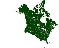 UNA locator map