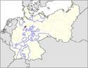 CV Map of Schaumburg-Lippe 1918-1934