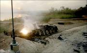Destroyed Zimbabwean Type 59 I
