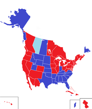 ElectionMap2000 (King of America)