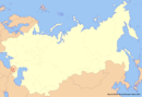 Location of Ossetia (New Union)