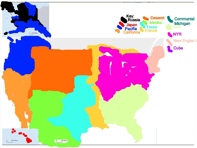 1942 Stress 1961 Map