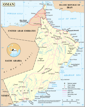 1983DD Oman map
