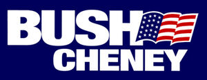 Bush 2000 sticker