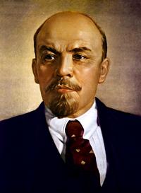 Lenin portrait color
