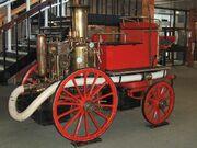 Steam-powered fire engine