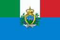 Flag of Italy and San Marino