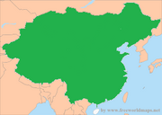 China blank th
