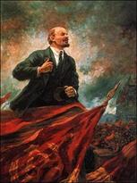 Lenin na tribune