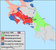 Costa rica 90 sandinistas split