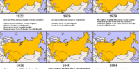 Proposed Republics of the Soviet Union (New Union)