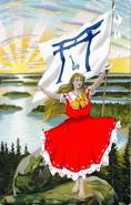 Asian finnish maiden