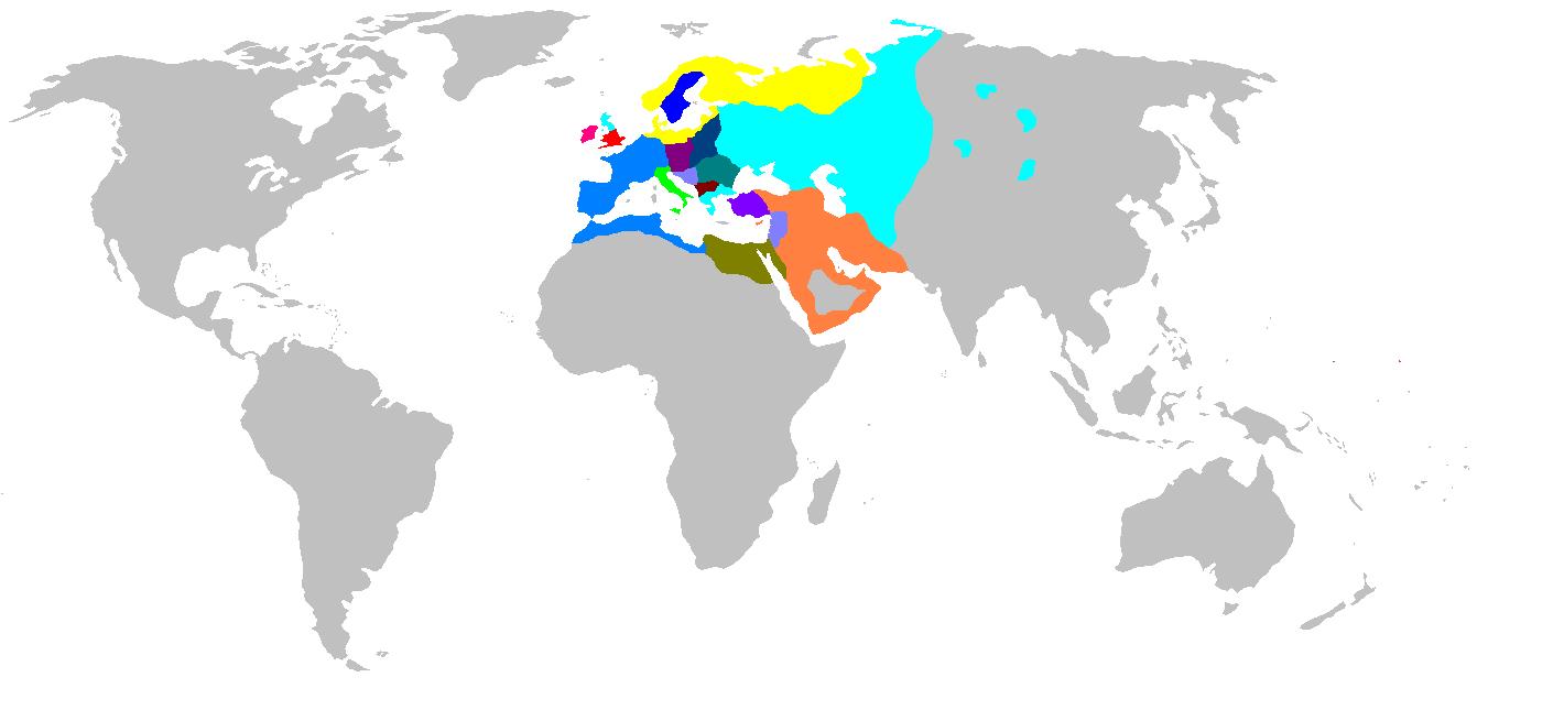 Europe 1100 Map Game