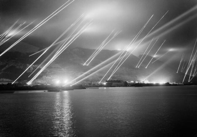 File:Searchlights on the Rock of Gibraltar, 1942.jpg