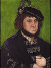 Lucas Cranach the Elder - Portrait of Johann the Steadfast 1509